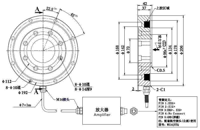 wheel shaped load cell NQ18